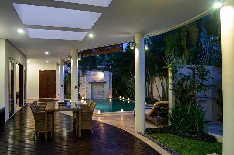 Pool Side Dining - The Residence - Seminyak, Bali