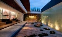 Seating Area - The Seiryu Villas - Seminyak, Bali