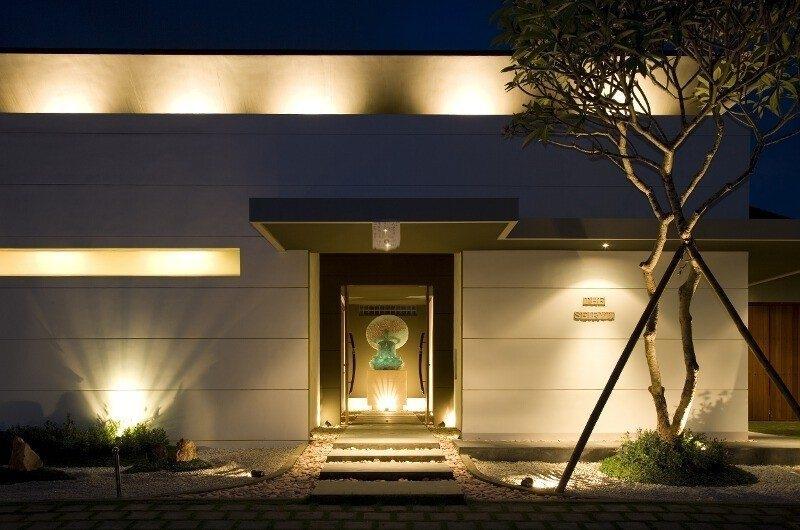 Entrance - The Seiryu Villas - Seminyak, Bali