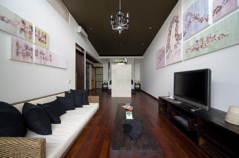 TV Room - The Seiryu Villas - Seminyak, Bali