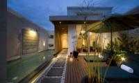 Pool Side - The Seiryu Villas - Seminyak, Bali