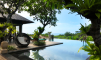 Pool Side - The Shanti Residence - Nusa Dua, Bali