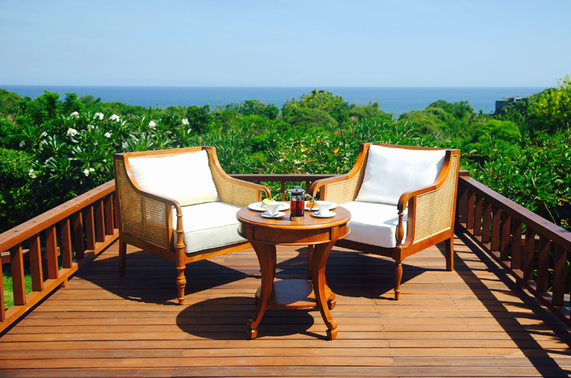 Outdoor Seating Area - The Shanti Residence - Nusa Dua, Bali