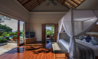 Bedroom with Wooden Floor - The Shanti Residence - Nusa Dua, Bali