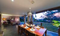Living and Dining Area - The Uma Villa - Canggu, Bali