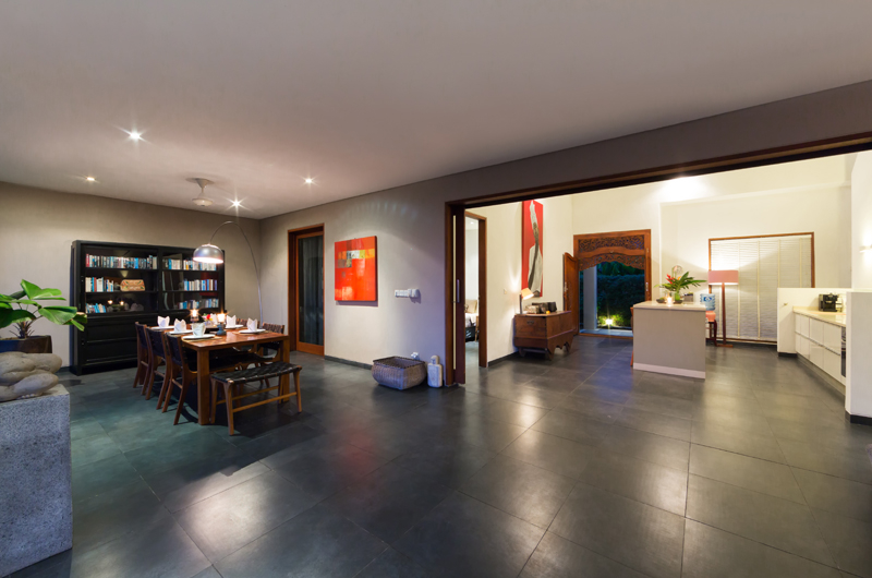 Kitchen and Dining Area - The Uma Villa - Canggu, Bali