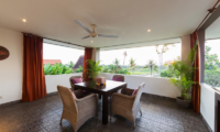 Dining Area with View - The Uma Villa - Canggu, Bali