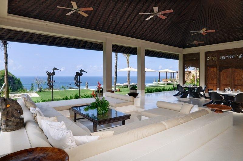 Living and Dining Area - The Ungasan Clifftop Resort Ambar - Uluwatu, Bali