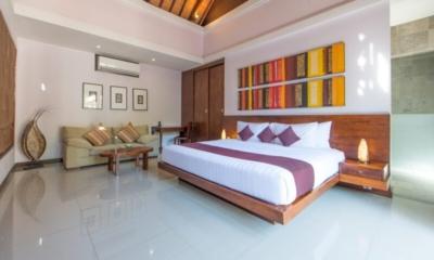 Bedroom with Seating Area - The Wolas Villas - Seminyak, Bali