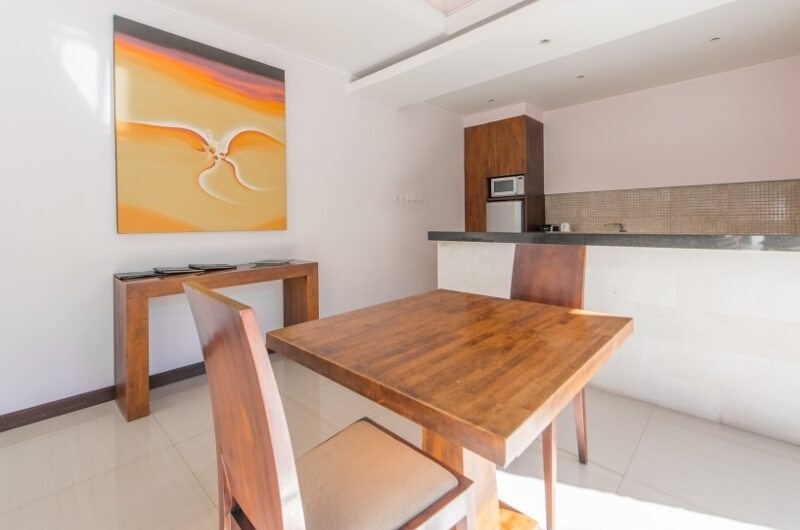Kitchen and Dining Area - The Wolas Villas - Seminyak, Bali