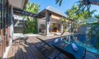 Pool Side Sun Beds - The Wolas Villas - Seminyak, Bali