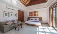Bedroom with Sofa - The Wolas Villas - Seminyak, Bali