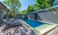 Pool Side - The Wolas Villas - Seminyak, Bali
