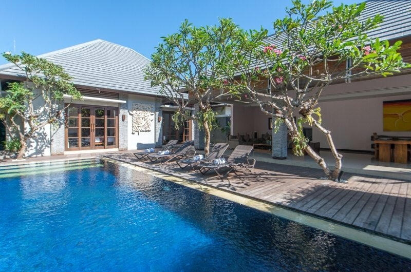 Swimming Pool - The Wolas Villas - Seminyak, Bali