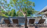 Sun Beds - The Wolas Villas - Seminyak, Bali