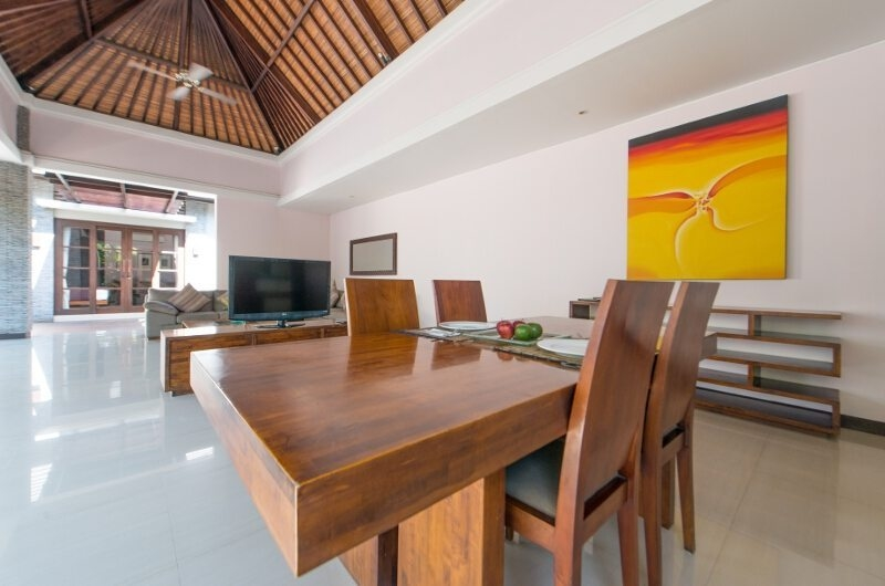Living and Dining Area - The Wolas Villas - Seminyak, Bali