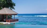 Pool Side Seating Area - Tirta Nila - Candidasa, Bali