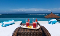 Pool Side Loungers - Tirta Nila - Candidasa, Bali