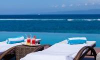 Pool Side Drinks - Tirta Nila - Candidasa, Bali