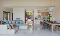 Living and Dining Area - Tirta Nila - Candidasa, Bali