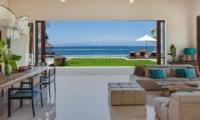 Living Area with Sea View - Tirta Nila - Candidasa, Bali