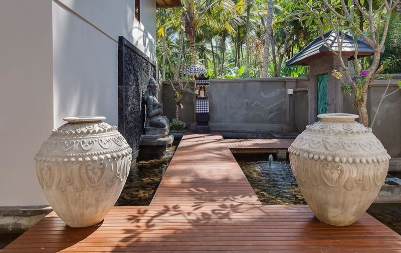 Water Features with Pathway - Tirta Nila - Candidasa, Bali