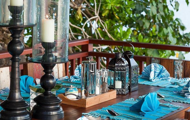 Dining View - Tirta Nila - Candidasa, Bali