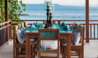 Dining Area with Sea View - Tirta Nila - Candidasa, Bali