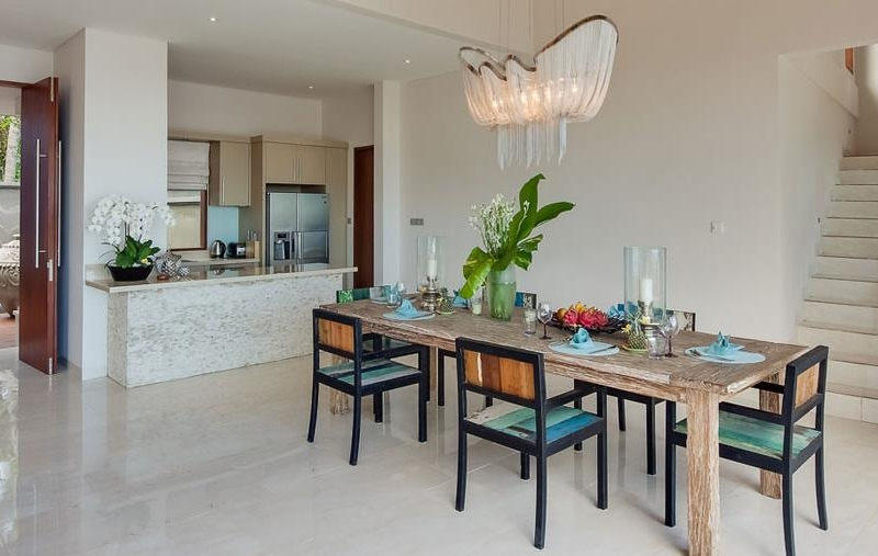 Kitchen and Dining Area with Up-Stairs - Tirta Nila - Candidasa, Bali