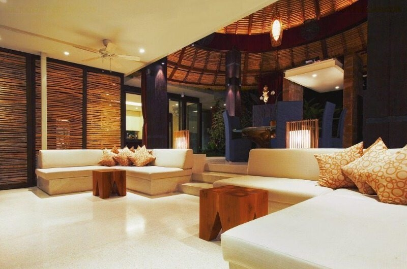 Indoor Living Area - Tukad Pangi Villa - Canggu, Bali