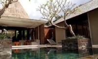 Pool Side - Tukad Pangi Villa - Canggu, Bali