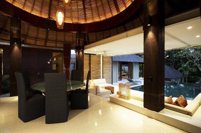 Seating Area - Tukad Pangi Villa - Canggu, Bali