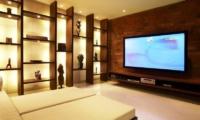 TV Room - Tukad Pangi Villa - Canggu, Bali