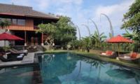 Pool Side - Umah Di Sawah - Canggu, Bali