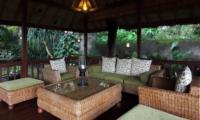 Lounge Area - Umah Di Sawah - Canggu, Bali