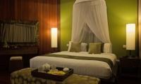 Bedroom at Night - Umah Di Sawah - Canggu, Bali