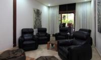 Indoor Seating Area - Umah Di Sawah - Canggu, Bali