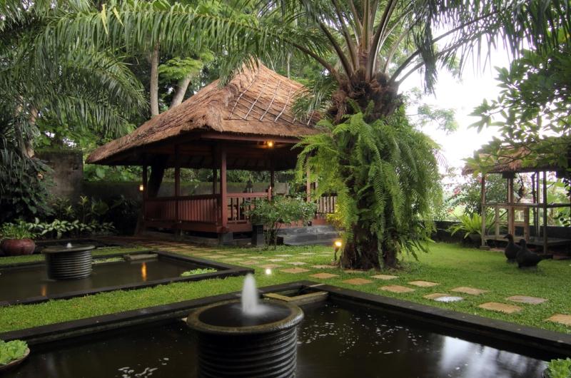 Water Feature - Umah Di Sawah - Canggu, Bali