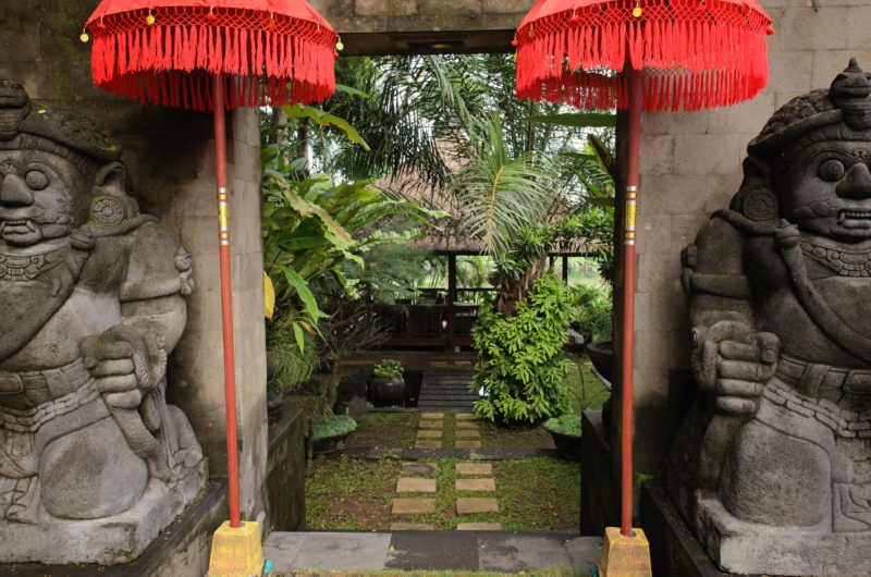 Entrance - Umah Di Sawah - Canggu, Bali