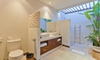 His and Hers Bathroom - Umah Kupu Kupu - Seminyak, Bali