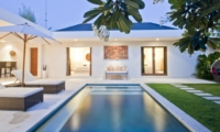 Pool Side Loungers - Umah Kupu Kupu - Seminyak, Bali
