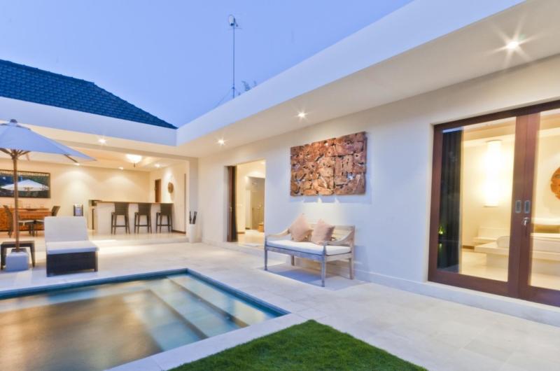 Pool Side - Umah Kupu Kupu - Seminyak, Bali