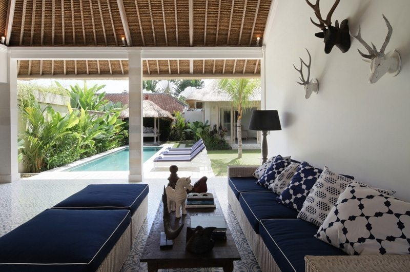 Living Area - Umah Di Desa - Batubelig, Bali