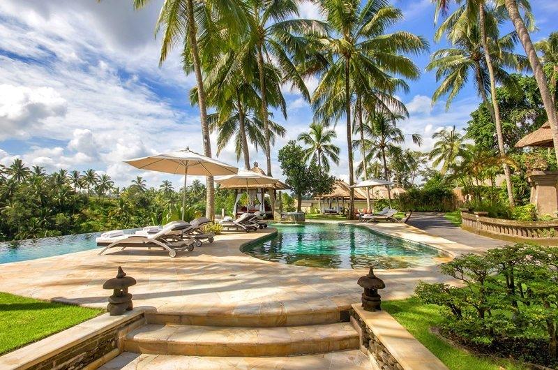 Reclining Sun Loungers - Viceroy Bali - Ubud, Bali