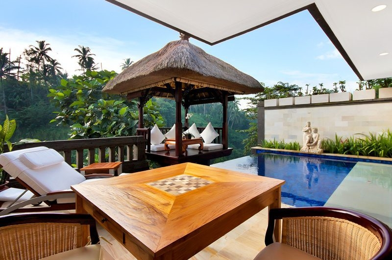 Pool Side Seating Area - Viceroy Bali - Ubud, Bali