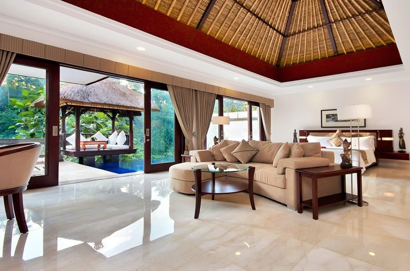 Spacious Bedroom with Pool View - Viceroy Bali - Ubud, Bali
