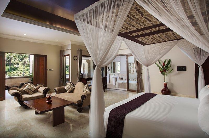 Bedroom and En-Suite Bathroom - Viceroy Bali - Ubud, Bali
