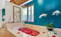 Romantic Bathtub Set Up - Viceroy Bali - Ubud, Bali