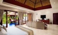 Bedroom with Sofa and TV - Viceroy Bali - Ubud, Bali