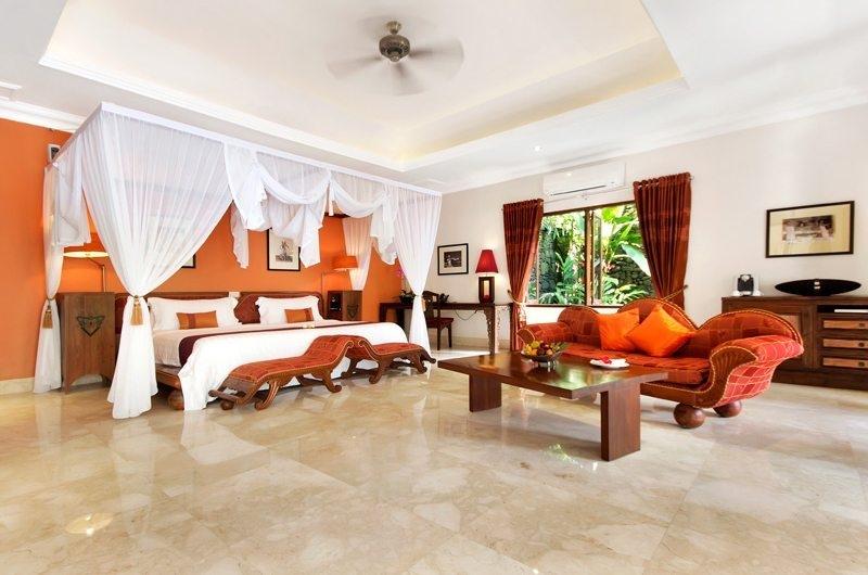 Spacious Bedroom with King Size Bed - Viceroy Bali - Ubud, Bali